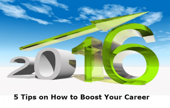 Five tips on how you can boost your career momentum in 2016 and beyond.