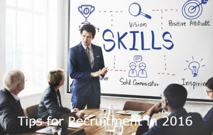 Recruitment tips for recruiter - 2016 and beyond